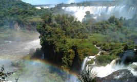 Iguazu vattenfall Royaltyfri Fotografi
