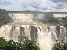 Iguazu vattenfall Royaltyfria Bilder