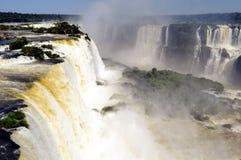 Iguazu vattenfall Arkivbilder