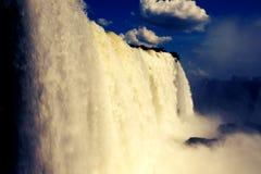 Iguazu vattenfall, Misiones, Argentina Arkivfoto