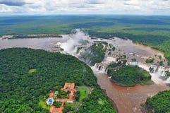 Iguazu-Wasserfälle Lizenzfreie Stockfotos