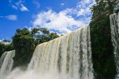 Iguazu-Wasserfälle, Argentinien Stockbild