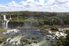 Iguazu Wasserfall Stockbild
