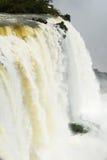 Iguazu water flow Royalty Free Stock Photos