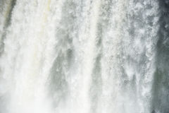 Iguazu water flow Stock Images