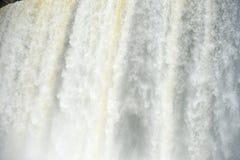 Iguazu water flow Stock Photography