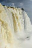 Iguazu water flow Stock Images