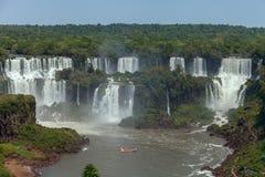 Iguazu Waterall естественный интерес стоковое фото