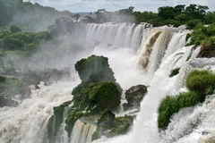 Iguazu waterfall Royalty Free Stock Photo