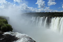 Iguazu Waterfall. This ist the iguazu Waterfall Stock Image
