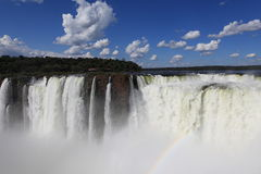 Iguazu Waterfall Royalty Free Stock Photography