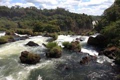 Iguazu Waterfall Royalty Free Stock Photos