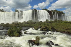 Iguazu Waterfall Royalty Free Stock Photos