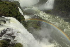 Iguazu Waterfall Royalty Free Stock Photo