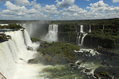 Iguazu Waterfall Stock Photo