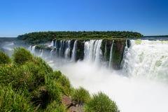 Iguazu waterfall in Argentina. The Iguazu waterfall in Argentina Royalty Free Stock Photo