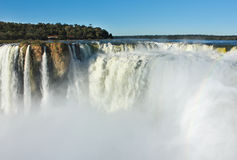 Iguazu waterfall, Argentina Stock Images