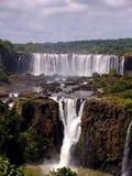 Iguazu waterfall. From the brasilian side Royalty Free Stock Image