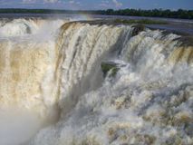 Iguazu Waterfalls. Iguazu Waterfall - one of the biggest waterfalls of the world Stock Photography