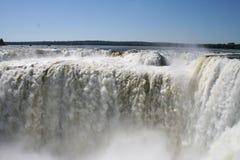Iguazu waterfalls royalty free stock photo