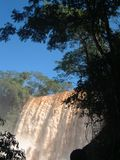 Iguazu Waterfalls. (Argentina-Brazil royalty free stock photography
