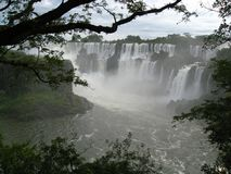 Iguazu waterfalls, Argentina royalty free stock photos