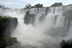 Iguazu waterfalls - Argentina. Stock Photos
