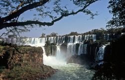 Iguazu Waterfalls,Argentina Royalty Free Stock Photography