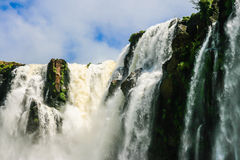 Iguazu waterfalls, Argentina Stock Photo