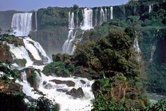 Iguazu Waterfalls,Brazil. View over Iguazu Waterfalls,Brazil Royalty Free Stock Photo