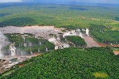 Iguazu waterfalls Royalty Free Stock Photos