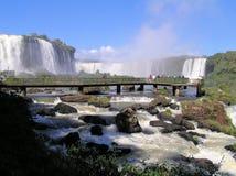 Iguazu Waterfalls Royalty Free Stock Photography