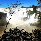 Iguazu Waterfalls. Iguazu Iguacu falls, largest series of waterfalls on the planet, located between Brazil, Argentina, and Paraguay with up to 275 separate royalty free stock images