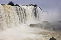 Iguazu Waterfalls (Iguazu, Iguacu, Iguassu). Wolrd's largest Waterfalls in Brazil stock photos