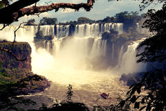 Iguazu waterfalls, Misiones, Argentina Royalty Free Stock Images