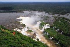 Iguazu waterfalls Stock Photo
