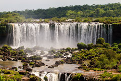 Iguazu Waterfalls National Park. Iguazu Iguacu falls, largest series of waterfalls on the planet, located between Brazil, Argentina, and Paraguay with up to 275 stock images