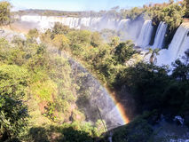 Iguazu Waterfalls National Park. Iguazu Iguacu falls, largest series of waterfalls on the planet, located between Brazil, Argentina, and Paraguay with up to 275 stock photos