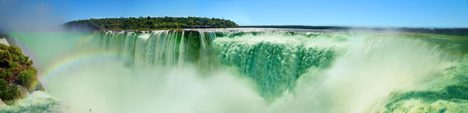 Iguazu Waterfalls Stock Image