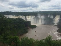 Iguazu waterfalls Royalty Free Stock Image