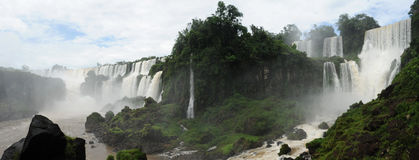 Iguazu waterfalls unesco world heritage Royalty Free Stock Photos