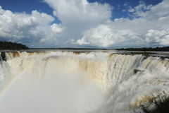 Iguazu waterfalls unesco world heritage Stock Image