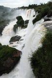 Iguazu waterfalls unesco world heritage. From the argentina part Royalty Free Stock Photos