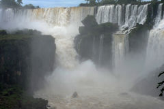 Iguazu waterfalls unesco world heritage Royalty Free Stock Image