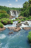 Iguazudalingen Royalty-vrije Stock Foto's