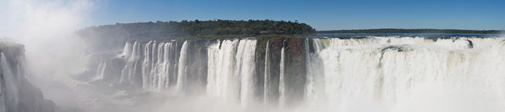 Iguazudalingen Royalty-vrije Stock Afbeelding