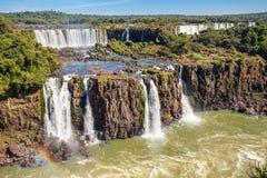 Iguazuet Falls Royaltyfri Fotografi