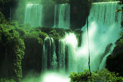 Iguazuwatervallen, Misiones, Argentinië Royalty-vrije Stock Foto's
