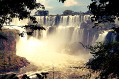Iguazuwatervallen, Misiones, Argentinië Stock Afbeelding