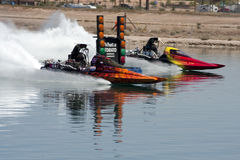 IHBA Hydroplane Boat Race Duel in the Desert Stock Photo